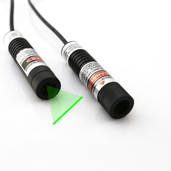 100mW green line laser module