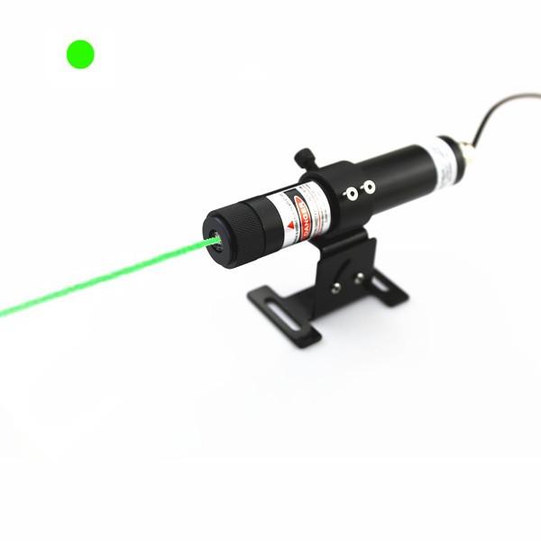 high power green dot laser alignment