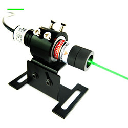 high precision 532nm green line projecting alignment laser
