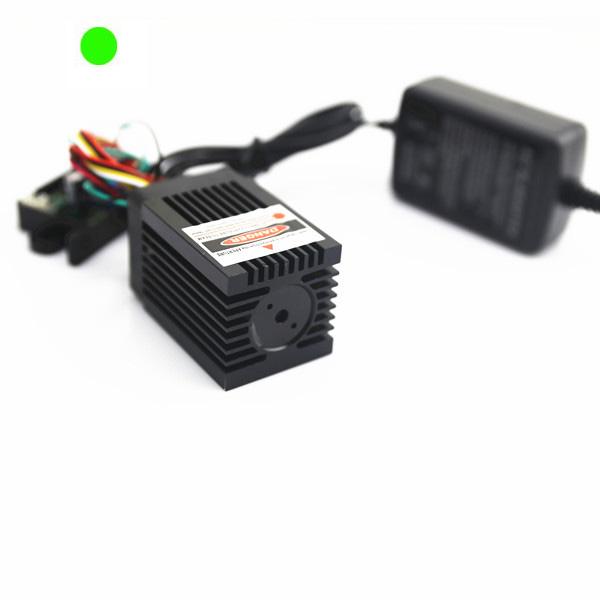 high power 200mW green laser diode module