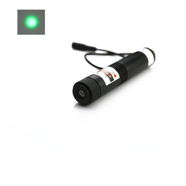 high power green dot laser module
