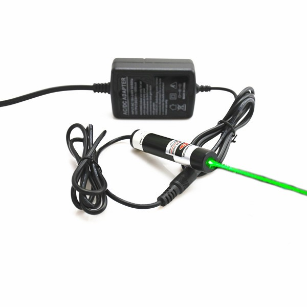 515nm green dot laser module